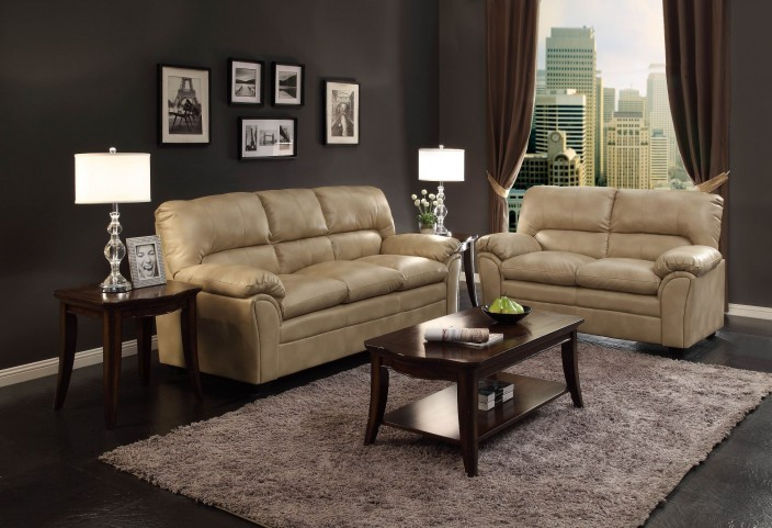 Talon Taupe Living Room Set