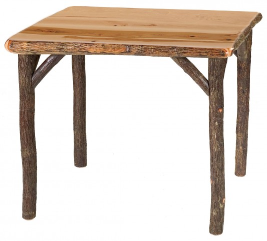 """Hickory 36"""" Armor Square Game Table"""