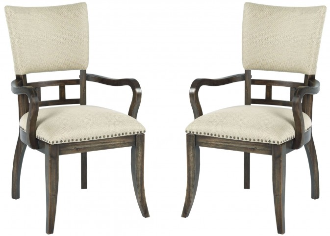Wildfire Ember Upholstered Arm Chair Set of 2