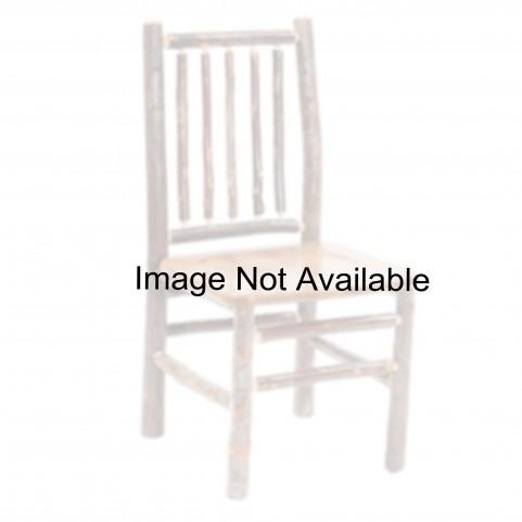 Hickory Espresso Seat Spoke Back Side Chair