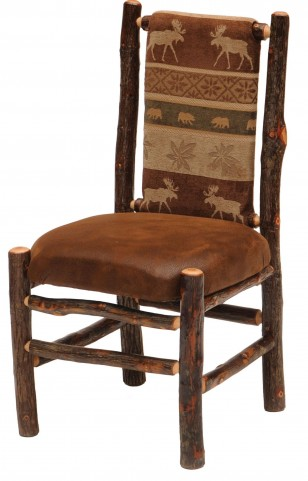 Hickory Standard Fabric Upholstered Back Side Chair