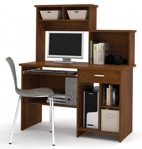 Active Tuscany Brown Computer Workstation