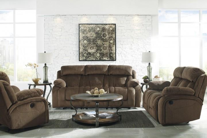 Stricklin Brown Reclining Living Room Set