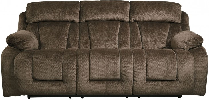 Stricklin Brown Reclining Sofa