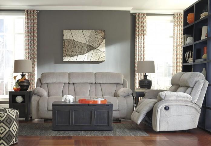 Stricklin Pebble Reclining Living Room Set