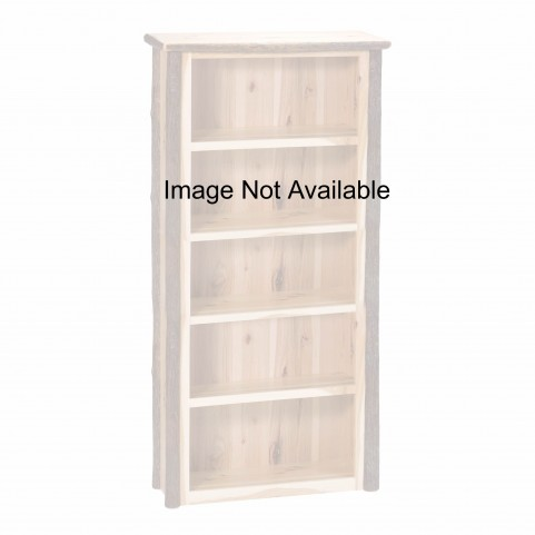 Hickory Rustic Maple Large Bookshelf