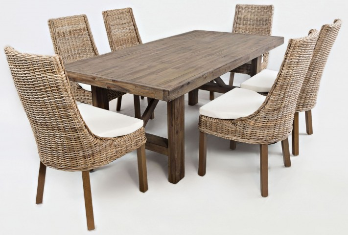 Hampton Road Trestle Dining Room Set