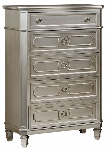 Windsor Silver Drawer Chest