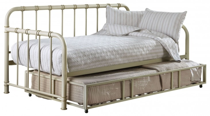 Tristen White Trundle Daybed
