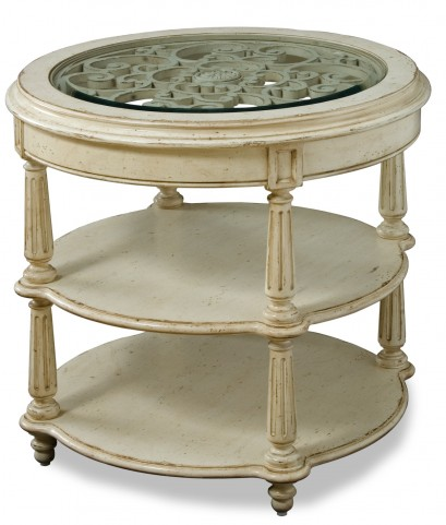 Provenance Round Lamp Table