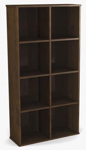 Dayton Chocolate Cubby Bookcase