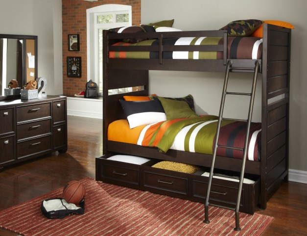 ClubHouse Twin Over Twin Bunk Bed