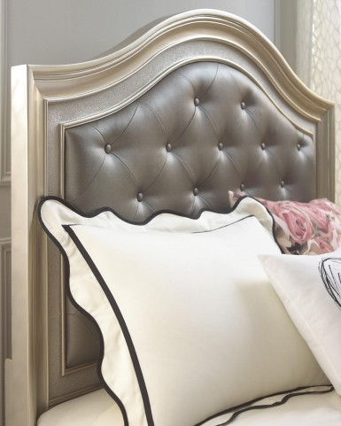 Li'l Diva Full Upholstered Panel Bed