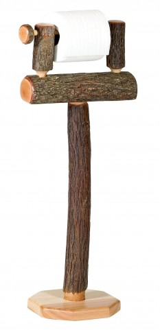 Hickory Free Standing Toilet Paper Holder