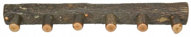 """Hickory 36"""" Wall Coat Rack"""