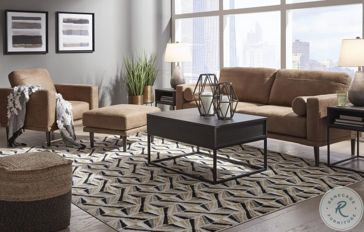 Arroyo Caramel Living Room Set