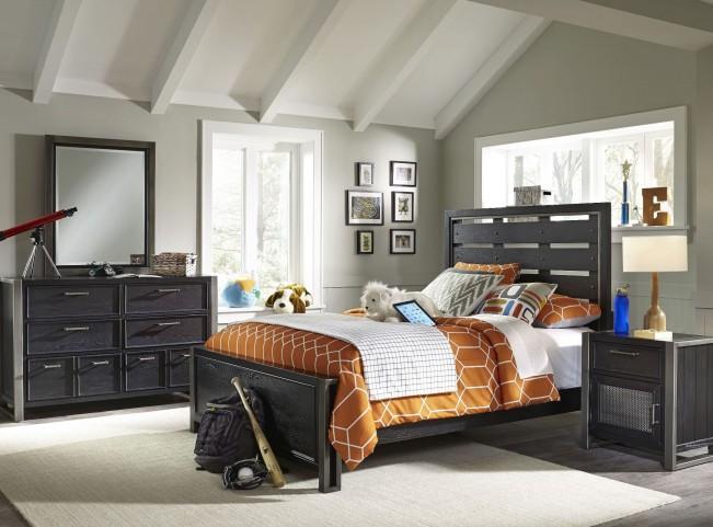 Graphite Panel Bedroom Set