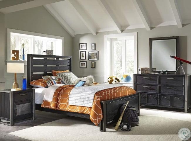 Graphite Youth Panel Bedroom Set