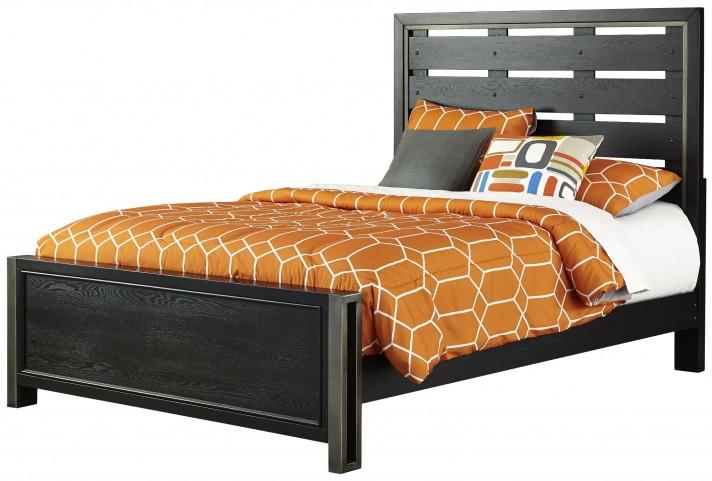 Graphite Full Panel Bed