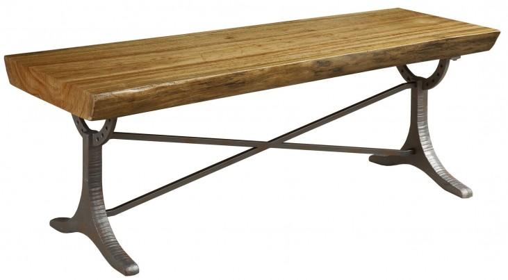 Artisans Shoppe Live Edge Wood Cocktail Table
