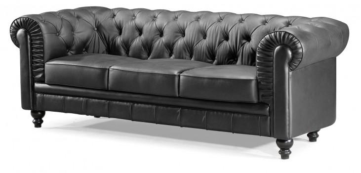Aristocrat Black Sofa