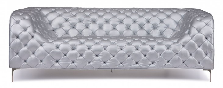 Providence Silver Sofa