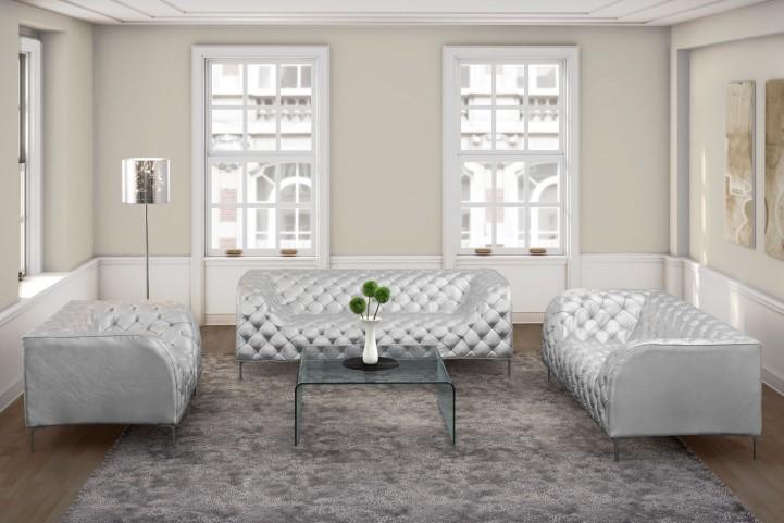 Providence Silver Living Room Set