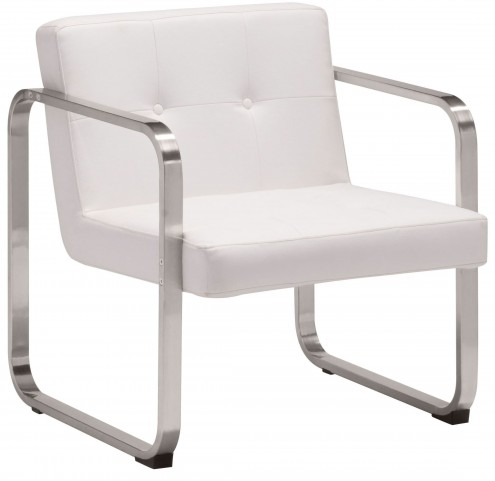 Varietal White Arm Chair
