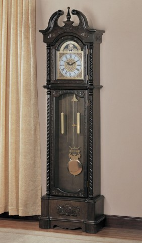 Brown Grandfather Clock 900721