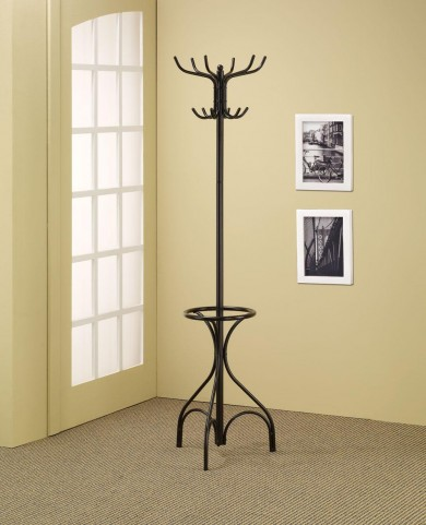 Black Coat Rack 900821