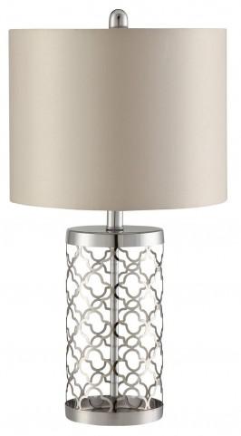 901314 Champagne Table Lamp Set of 2