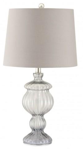 901524 Smoked Glass Table Lamp