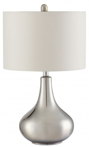 901525 Silver Table Lamp