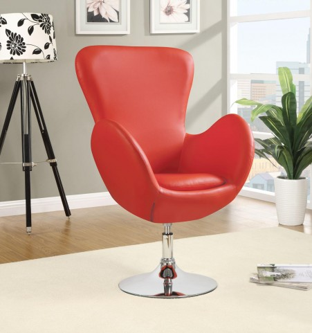 902101 Red Leisure Chair