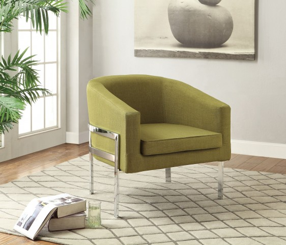 902531 Green Accent Chair
