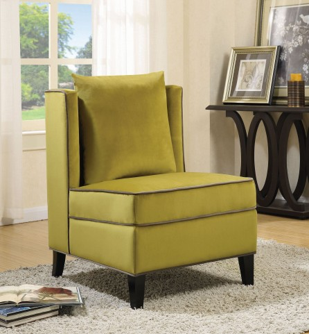 Chartreuse Accent Chair