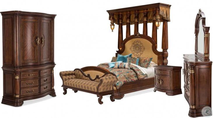 Grand Masterpiece Royal Sienna Dresser