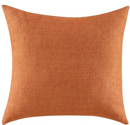905052 Textured Orange Accent Pillow Set of 2