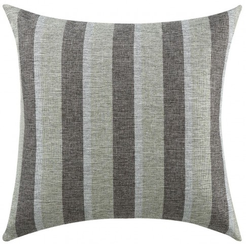 Charcoal Stripes Accent Pillow Set of 2