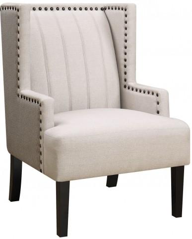 Madeleine II Light Beige Chair by Donny Osmond