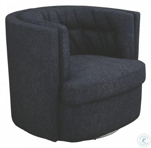 Amazing Dark Blue Swivel Chair Short Links Chair Design For Home Short Linksinfo