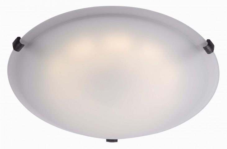 Aero Oil Rubbed Bronze LED Large Flush mount