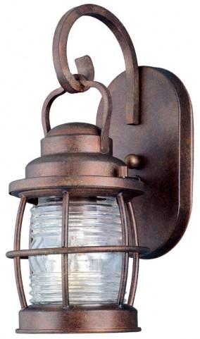 Beacon Gilded Copper Small Wall Lantern