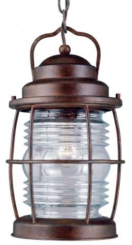 Beacon Gilded Copper Hanging Lantern