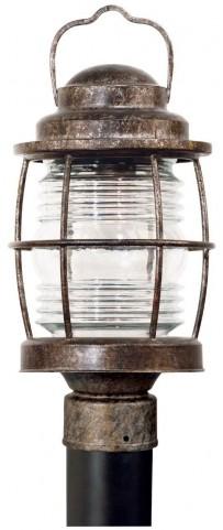 Beacon Flint Post Lantern
