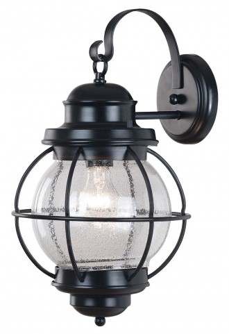 Hatteras Black Large Wall Lantern