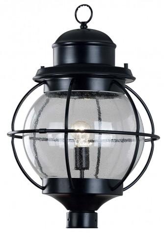 Hatteras Black 1 Light Post Lantern