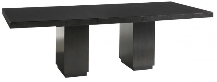 Carrera Modena Rectangular Extendable Double Pedestal Dining Table