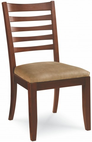 Tribecca Root Beer Splat Side Chair