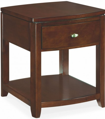 Tribecca Root Beer End Table